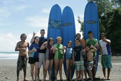 L.K. Surf Lesson Costa Rica Vacations Photo